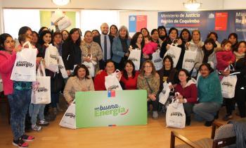 Jefas de hogar de la Región se convierten en embajadoras de la eficiencia energética