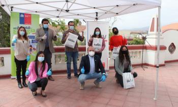 Seremi de Energía e INJUV entregan kits de eficiencia energética a jóvenes de la Región