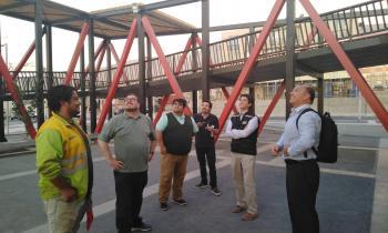 Nueva visita inspectiva a alumbrado peatonal realizaron profesionales de Energía, SEC, GORE y Municipalidad de...
