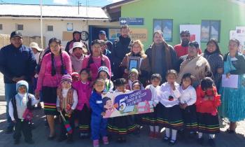 Jardín infantil de Visviri tendrá energía eléctrica las 24 horas