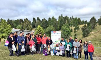 Comunidades aisladas de la región reciben kits solares