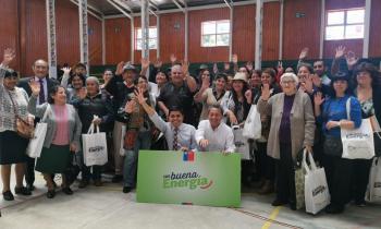 Seremi de Energía renueva kit de eficiente para las familias del Biobío