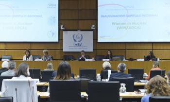 Women in Nuclear (WiN) ARCAL  Inauguración capítulo regional