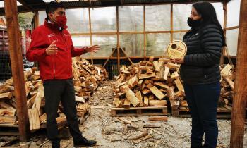 Comerciantes del Biobío se adjudican  nuevo Sello de Calidad de Leña