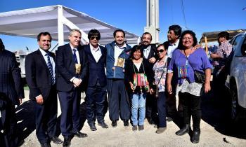 Gracias a alianza entre Gobierno Regional y Elecda Campamento de Pueblos Originario de Calama cuenta con sumin...