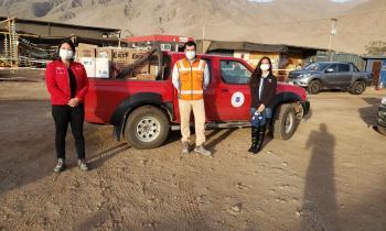 Red de Salud recibe donación de insumos de higiene y protección personal de empresa de energía