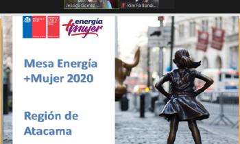 Mesa Energía Más Mujer presentó su plan de acción 2021