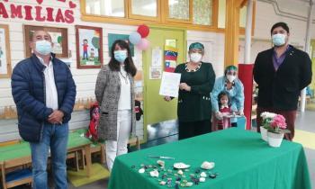Dos Jardines Infantiles de Puerto Varas y Tres de Frutillar fueron beneficiados con proyectos Fotovoltaicos