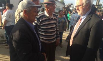 Ministro visita la Región del Maule