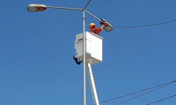 A contar de esta semana centro de la ciudad contará con modernas luminarias LED