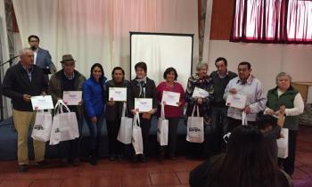 100 familias de San Rosendo se capacitan en eficiencia energética