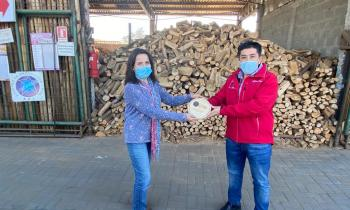 Realizan Lanzamiento del Sello de Calidad de Leña con reconocimiento a comercializadora de la comuna de Machalí