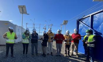 Seremi de Energía de Los Lagos participa en inauguración del sistema de respaldo en beneficio de vecinos de Isla Lemuy
