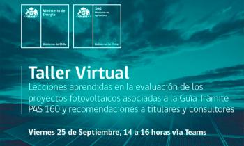 Taller Virtual - Lecciones aprendidas en la evaluación de los proyectos fotovoltaicos.