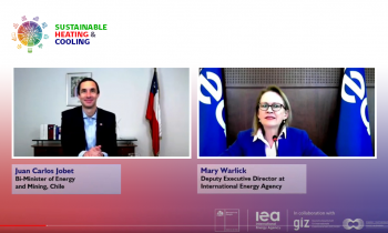 1er conferencia internacional de Calor y Frío da cuenta de la Estrategia nacional de Chile en esta materia