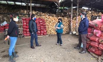Autoridades realizan positivo balance en el comportamiento de comerciantes de leña en Osorno