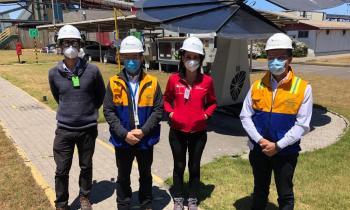 Seremi de Energía visita termoeléctrica a carbón para conocer avance del plan de transición justa elaborado para trabajadores de AES Gener