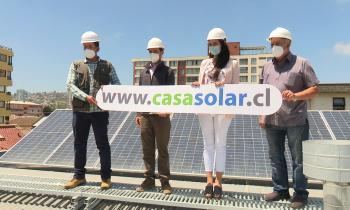 Seremi de Energía informó que Villa Alemana  es la primera comuna de la Región en  acceder a Casas Solares