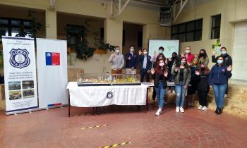 Energía y Medio Ambiente celebran el Día del Hidrógeno junto a HIF y a estudiantes del Liceo Luis Albero Barrera