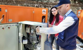 Fiscalizan instalaciones eléctricas y de gas de la Quinta Vergara