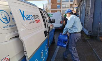 Seremi de Energía y Director de la SEC conocieron nueva modalidad de venta a domicilio de kerosene