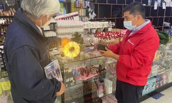 Seremi de Energía y Director SEC recomiendan comprar y utilizar guirnaldas navideñas certificadas