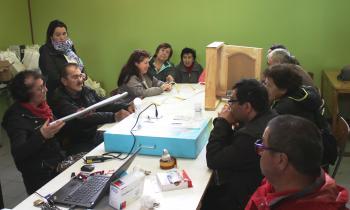Organizaciones Sociales Coyhaique se capacitaron en eficiencia energética