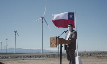 Autoridades inauguran Parque Eólico La Estrella de la empresa Opdenergy que inyecta energía de manera importante al Sistema Eléctrico Nacional