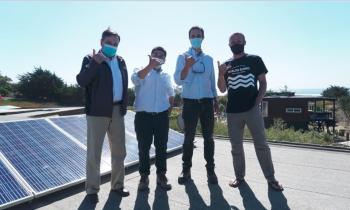 Ministro Jobet visita proyecto de Energías Renovables destacando inversión energética y reactivación económica