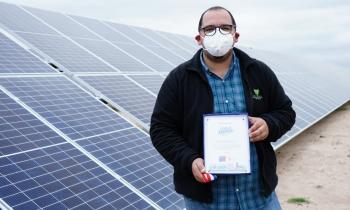 Subsecretario López e Intendenta Cofré destacan Ley de Eficiencia Energética y visitan proyectos de energías renovables que impulsan a las pymes de la región