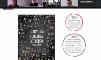 Entregan material Pedagógico con contenido en el ámbito energético para establecimientos educacionales de la región