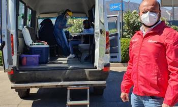 Realizan testeos PCR a trabajadores de servicentros de la Región de Coquimbo