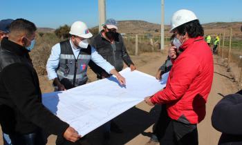 Inician obras de electrificación para familias de El Progreso de Ovalle