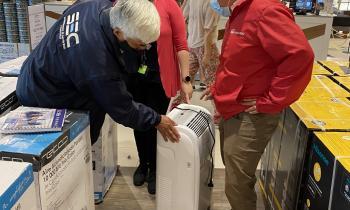 Autoridades de Energía fiscalizan venta de ventiladores, aires acondicionados y enfriadores los que deben contar con el Sello SEC