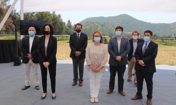 "Subsecretario de Energía e Intendenta Cofré inauguran Parque Solar Fotovoltaico ""Candelaria"" en Mostazal"