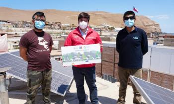 Subsecretario de Energía e Intendente Regional lanzan en Arica innovadora iniciativa para instalar sistemas solares en viviendas