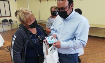 120 familias de Mejillones recibieron kits eficientes