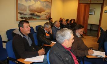 Leñeros que postularon al programa Leña Más Seca fueron capacitados en secado de leña y gestión empresarial