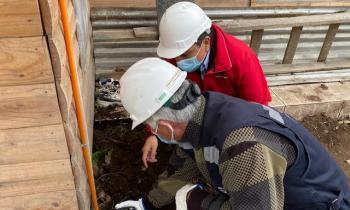 Programa La Ruta de la Luz permite conexión eléctrica domiciliaria a familias de sector rural de San Vicente TT