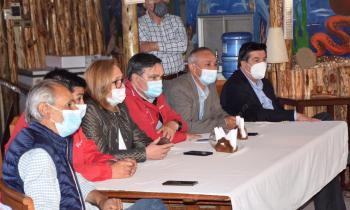 Intendenta Cofré junto a Seremi Ogaz anuncian que tras alcanzar acuerdo se reubicará línea eléctrica para asegurar el suministro en Navidad