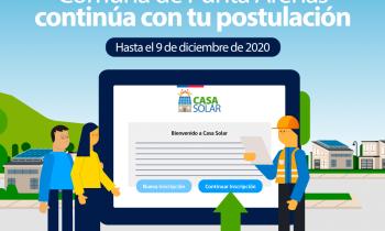 Casa Solar: 9 de diciembre cierran las postulaciones al programa para equipar viviendas con paneles fotovoltaicos