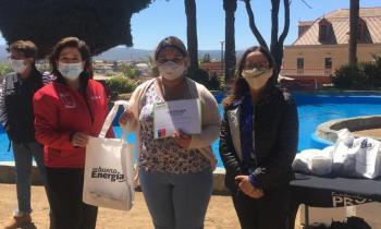 Mujeres de Talleres de Formación y Emprendimiento de PRODEMU se capacitaron en Eficiencia  Energética
