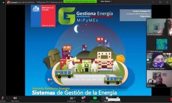 MiPyMEs de la región de Valparaíso se capacitaron en Taller Gestiona Energía