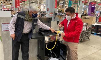 Fiscalizan venta de Parrillas eléctricas y de gas previo inicio de Fiestas Patrias