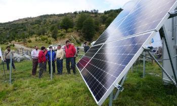 Subsecretario de Energía lanzó inédito programa regional y visitó a beneficiarios de la Ruta de la Luz