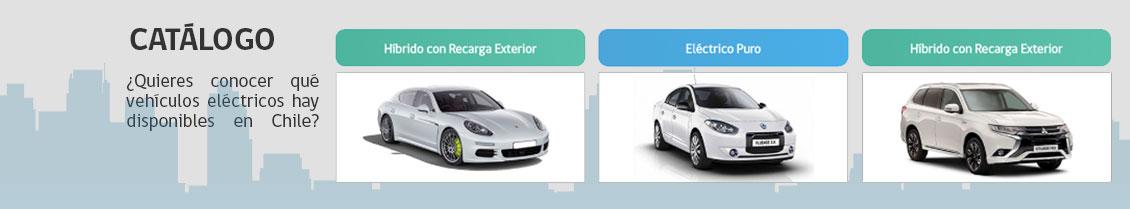 Catálogo de Vehículos Eléctricos disponibles en Chile