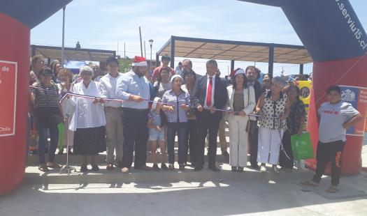Seremi de Energía Asiste a Inauguración de Plaza Fuerte Ciudadela