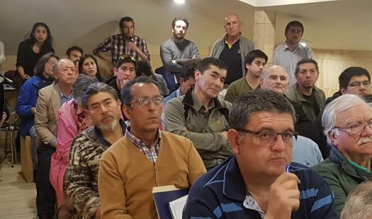 Cerca de 200 personas asistieron a los talleres de participación ciudadana para que Castro sea una Comuna Energética