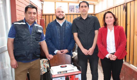 Entregan generadores a familias de electrodependientes de la Región de Coquimbo