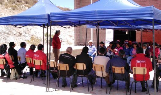 En Murmuntani, comuna de Putre, se desarrolló el último Gobierno en Terreno del presente año de la Gobernación de Parinacota